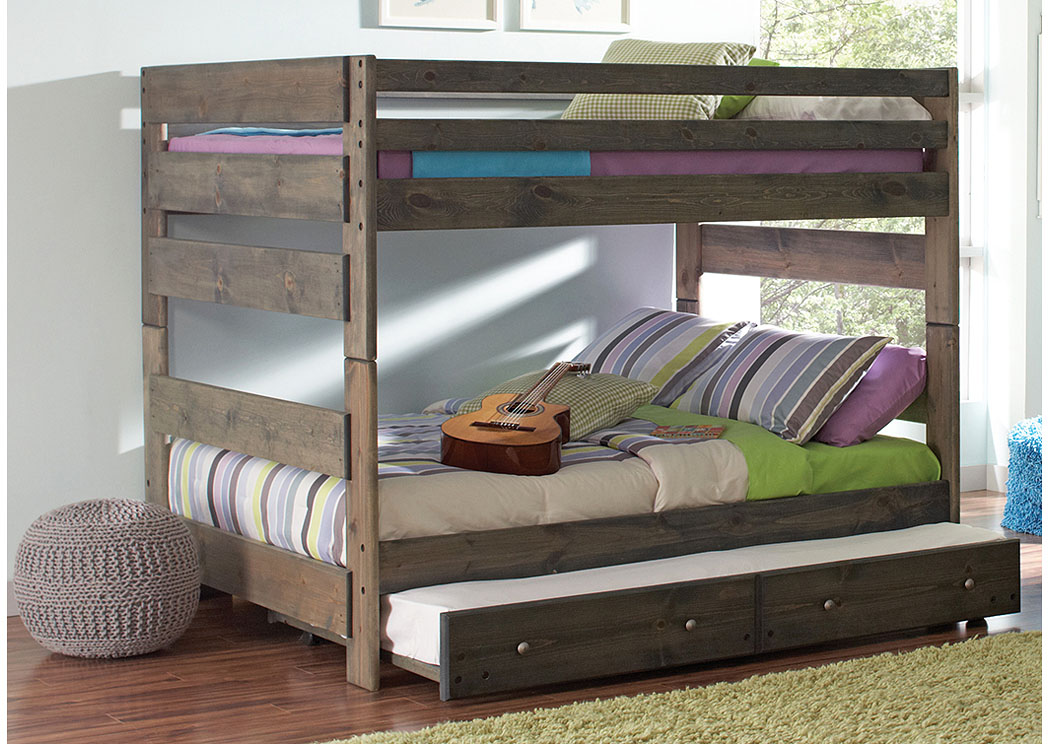 Discount Furniture Stores in Miami, Key Largo to Key West, Pembroke Pines Full/Full Grey Bunk ...