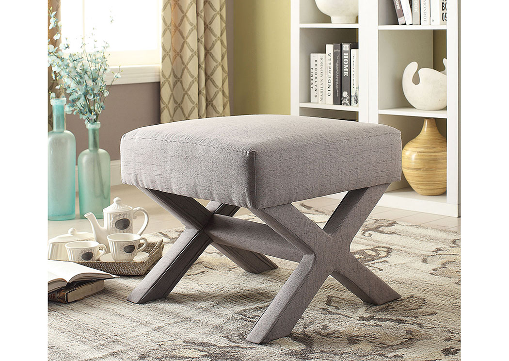 Foothills Family Furniture Beige Ottoman