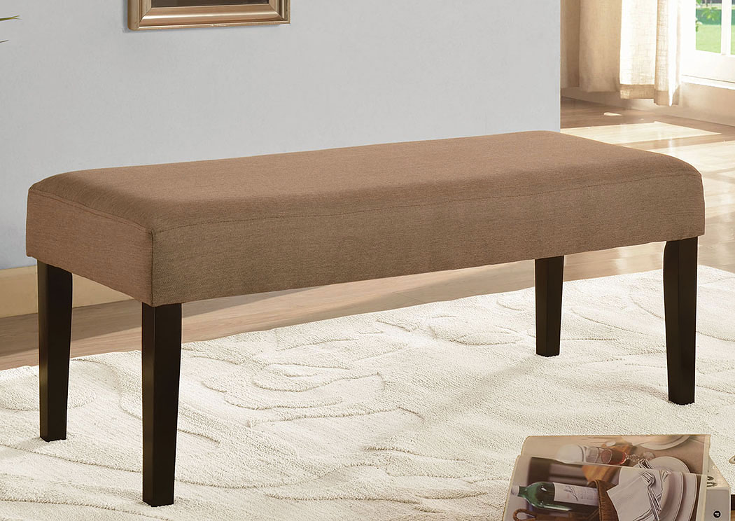 Brown Upholstered Bench,ABF Coaster Furniture