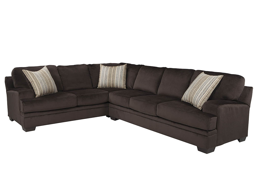 Chocolate Sectional,Coaster Furniture