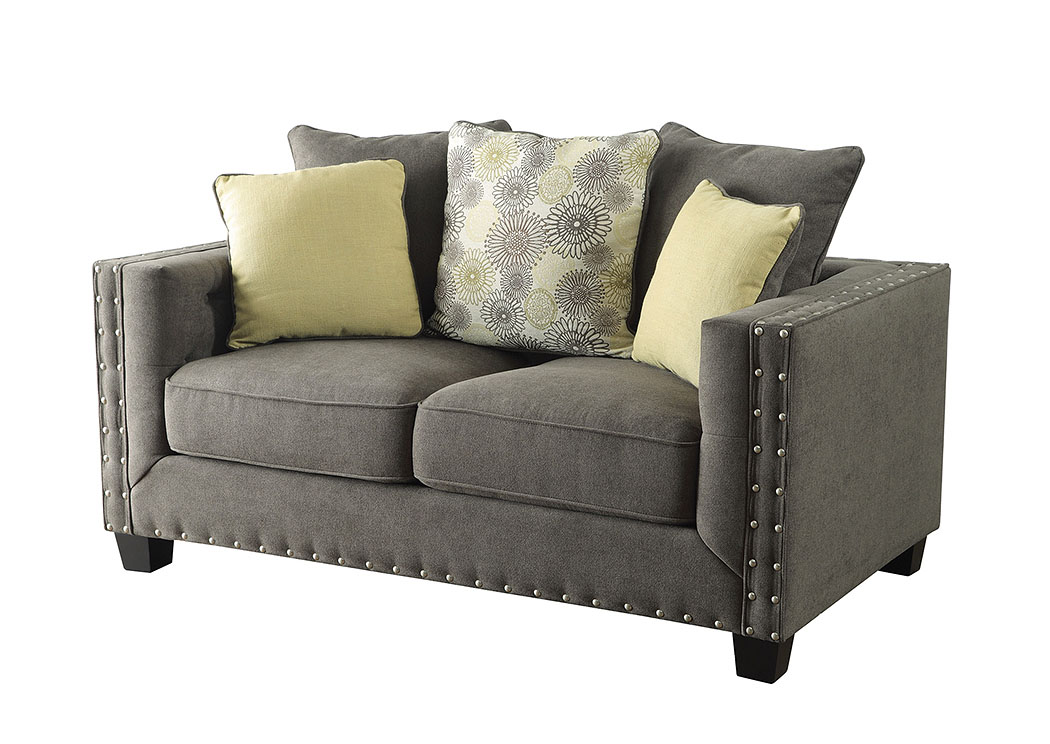 Gray Loveseat,ABF Coaster Furniture