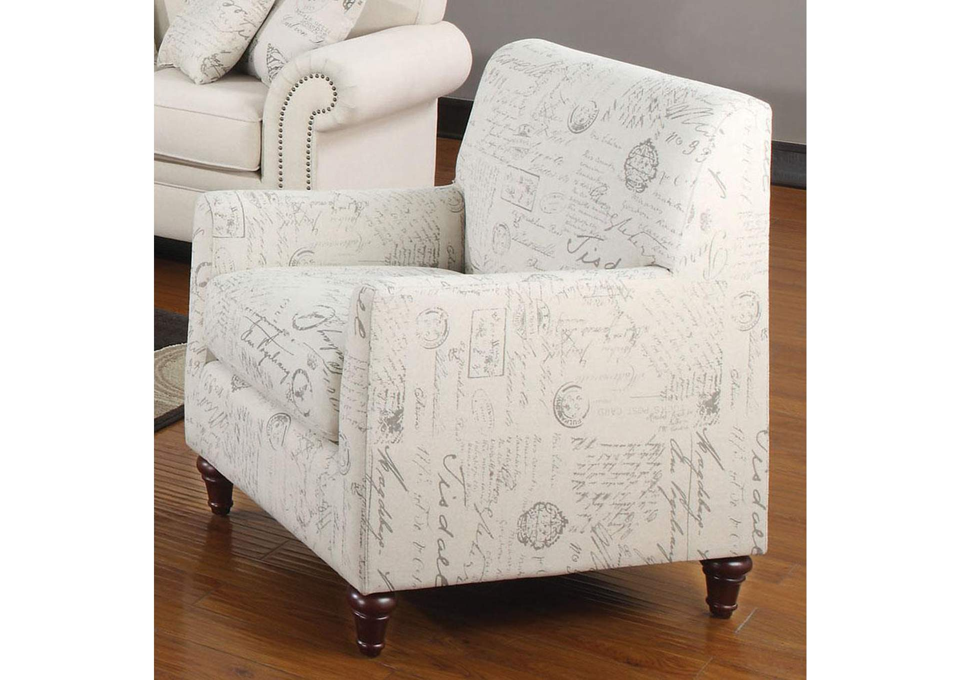Brothers Fine Furniture Norah Cream Chair