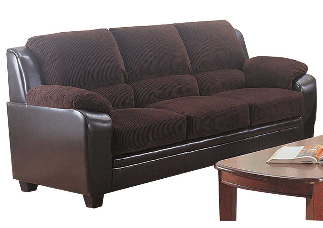 Best Buy Furniture And Mattress Monika Chocolate Sofa