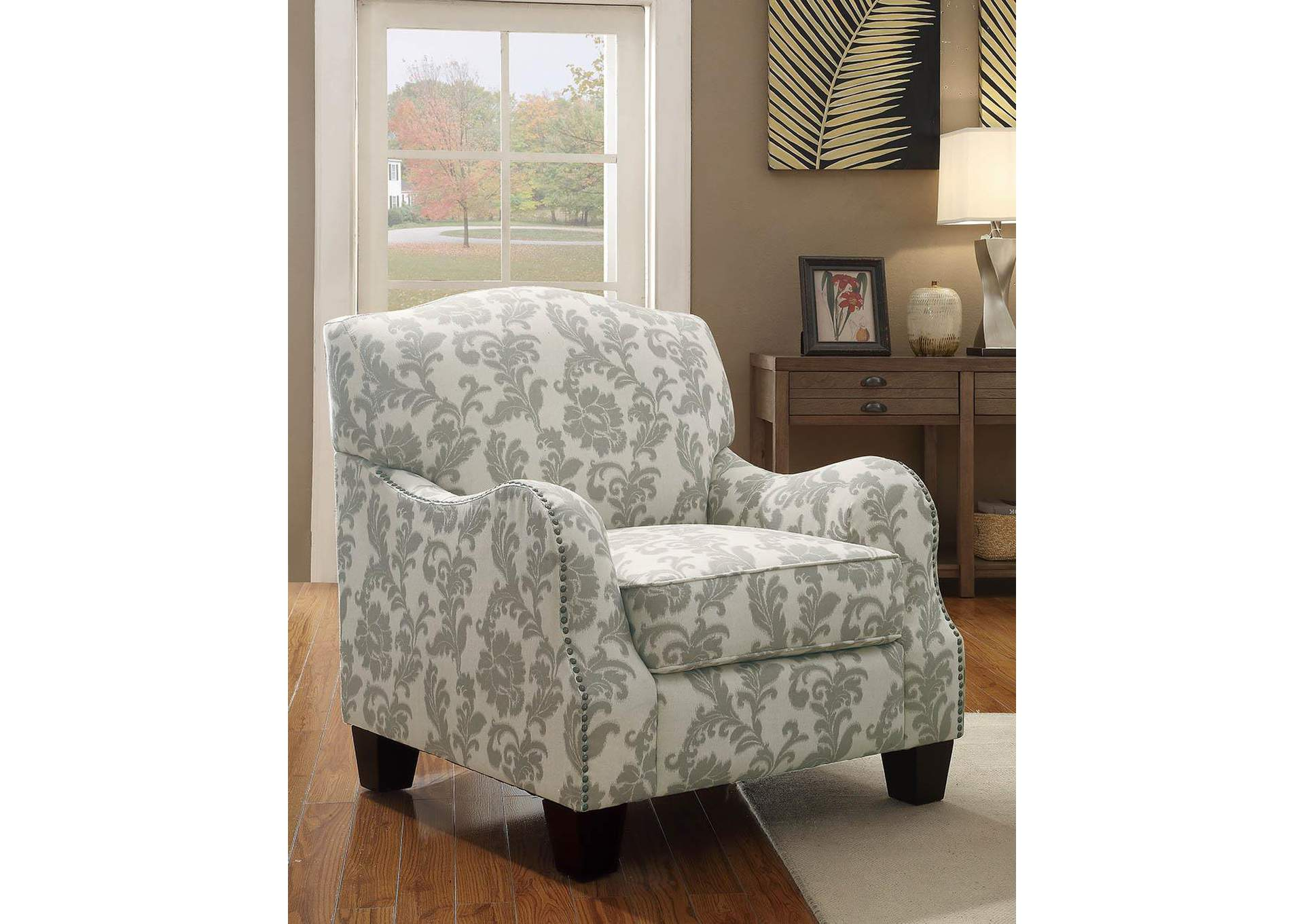 Karlee Beige Accent Chair,Coaster Furniture