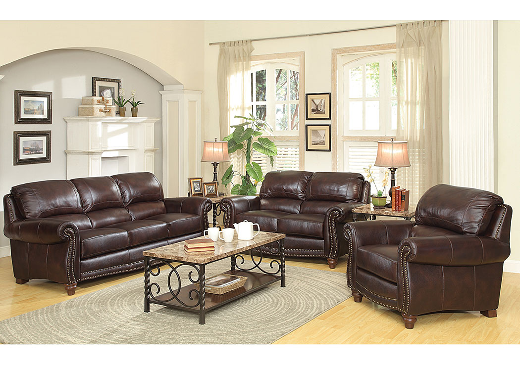 Home furniture coaster furniture living room brown sofa