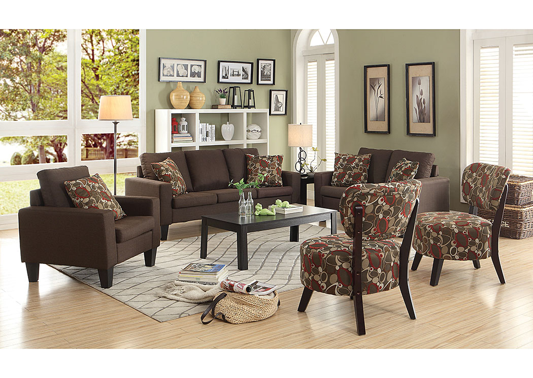 Discount Furniture Stores In Miami, Key Largo To Key West, Pembroke Pines  Chocolate Sofa, Loveseat U0026 Chair