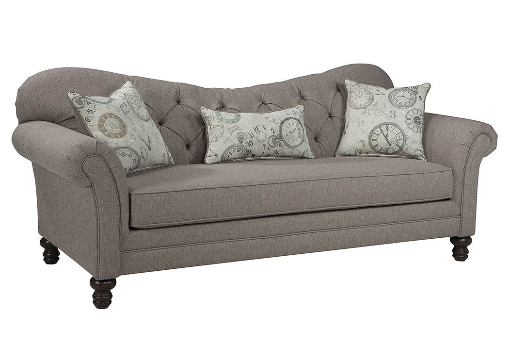 Cohen s Furniture New Castle DE Carnahan Stone Grey Sofa