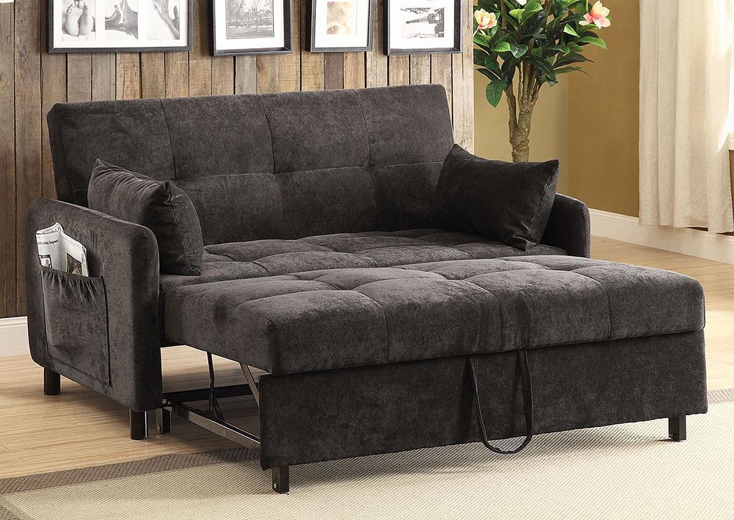 Harlem Furniture Brown Sofa Bed