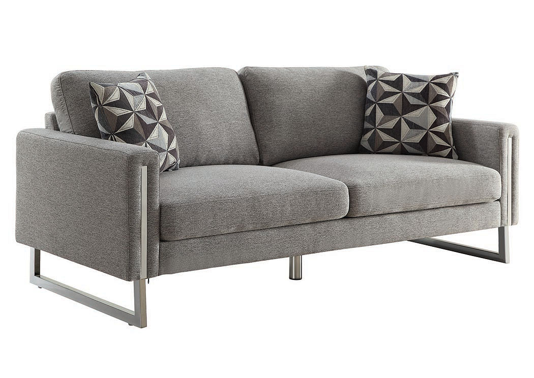 Incroyable Grey Sofa,Coaster Furniture