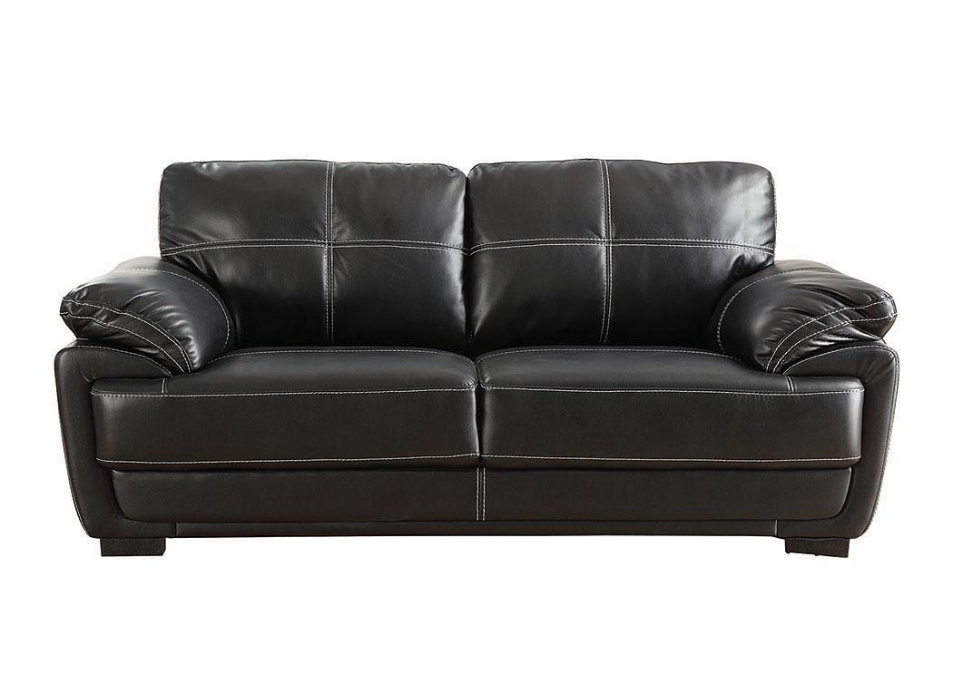 Harlem Furniture Black Sofa