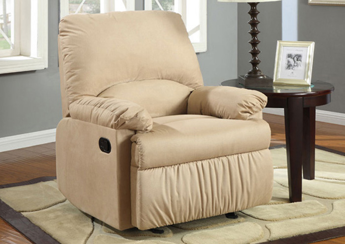 Brown Light Glider Recliner,Coaster Furniture