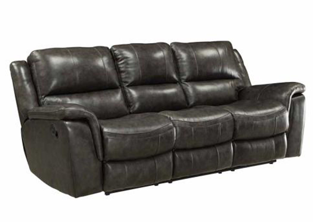 Black Power Reclining Sofa,ABF Coaster Furniture