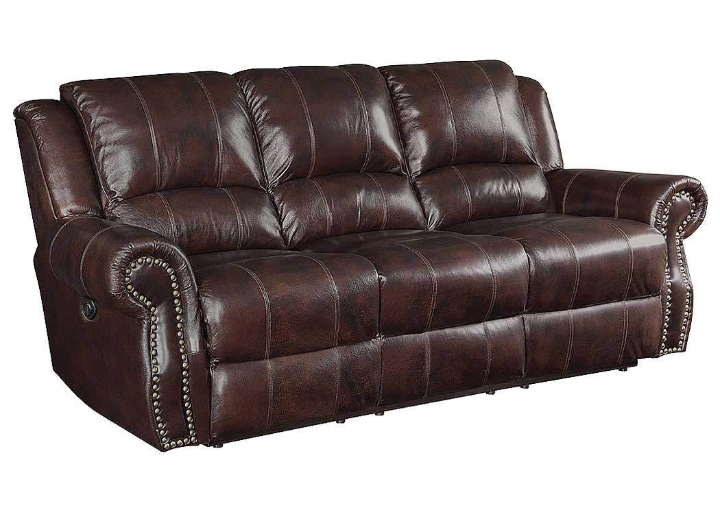 Atlantic Bedding And Furniture Tobacco Motion Sofa