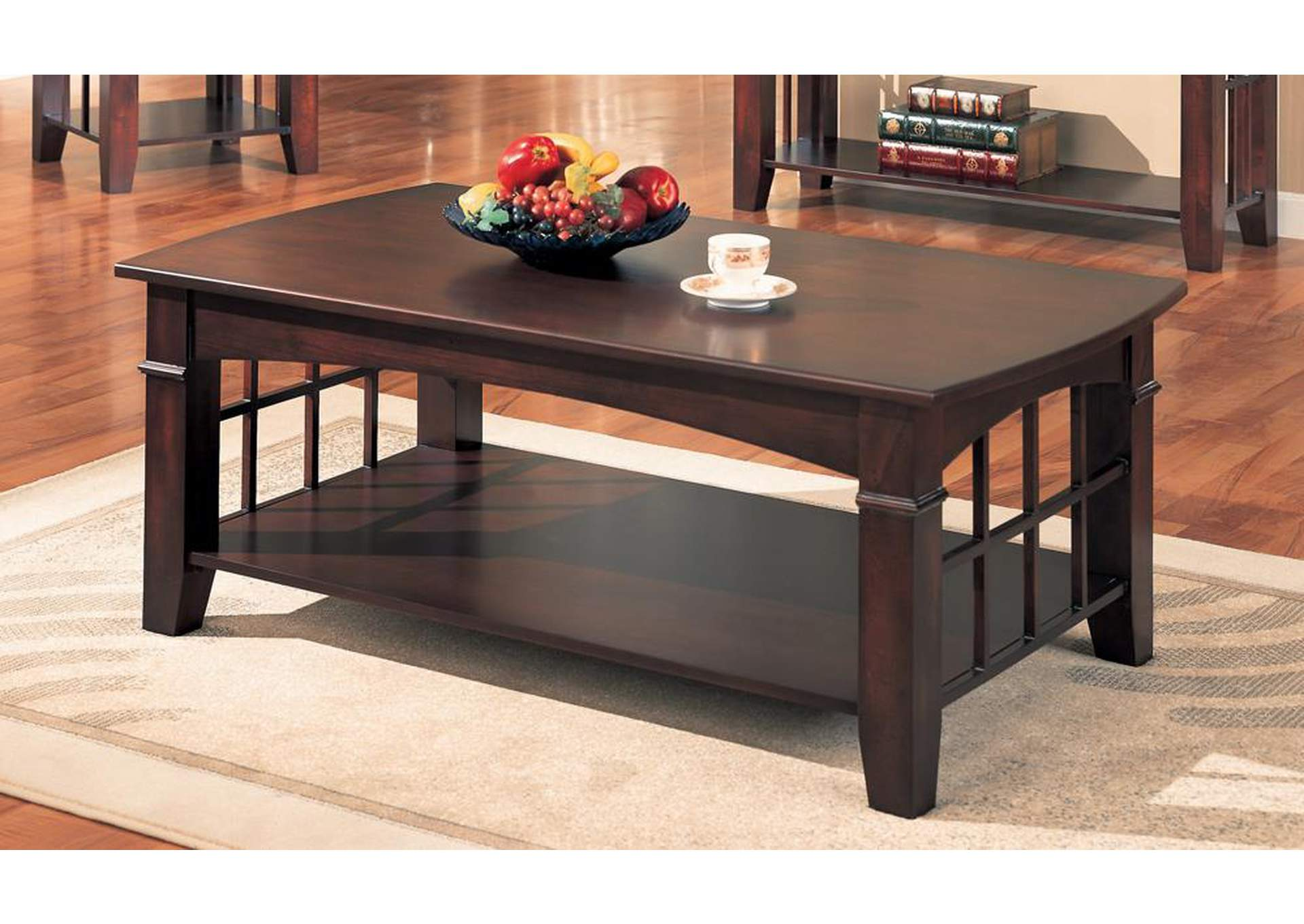 Brothers Fine Furniture Coffee Table