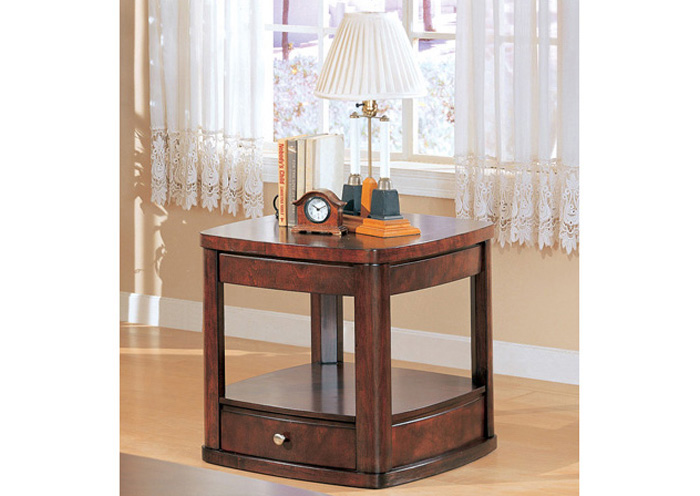 Brothers Fine Furniture End Table