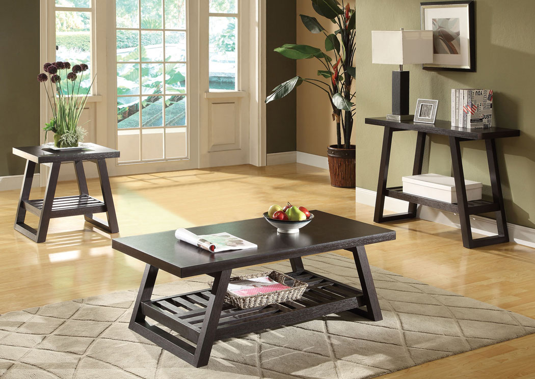 National Furniture Outlet Westwego La Rich Brown Sofa Table