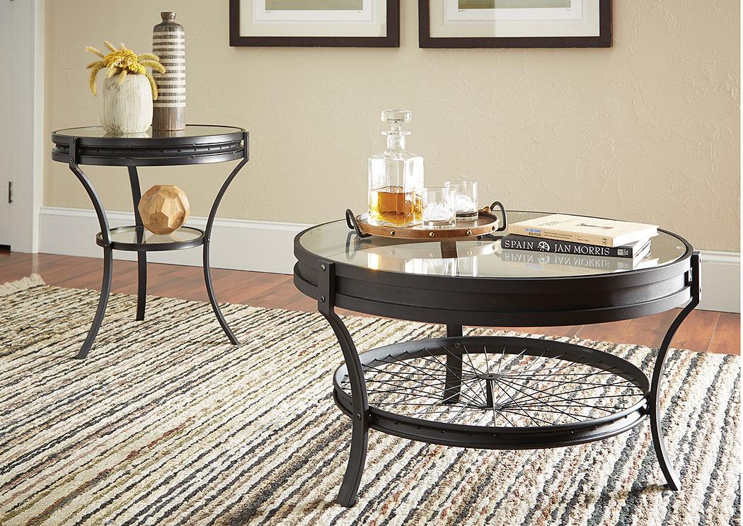 Furniture Palace Black Coffee Table
