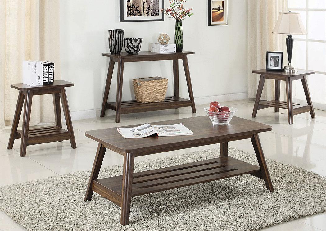 Dark Walnut Accent Table,Coaster Furniture