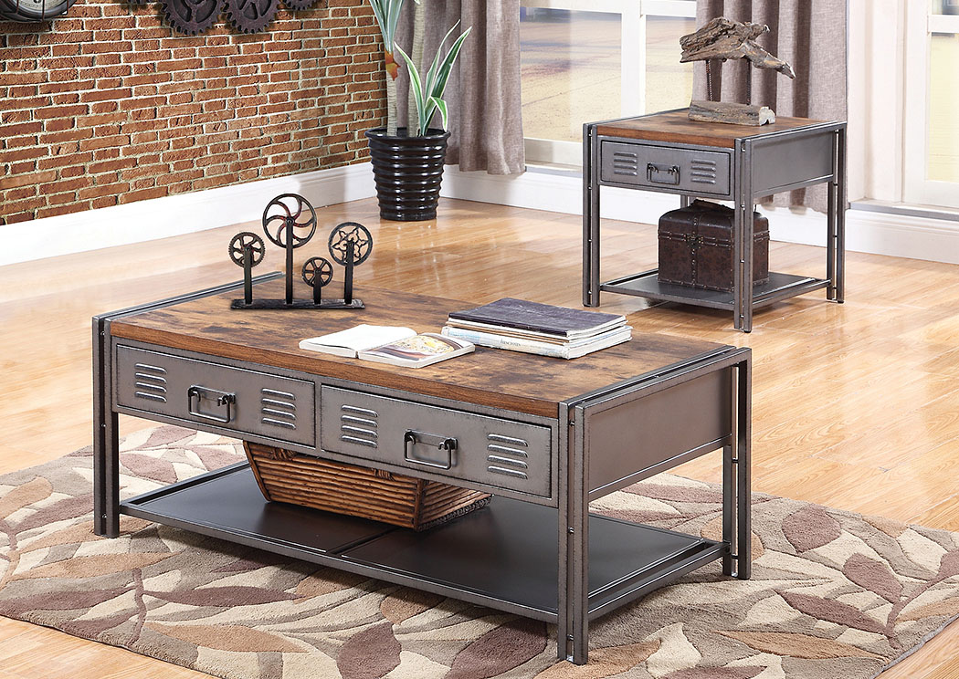 National Furniture Outlet Westwego La Gray Coffee Table Set