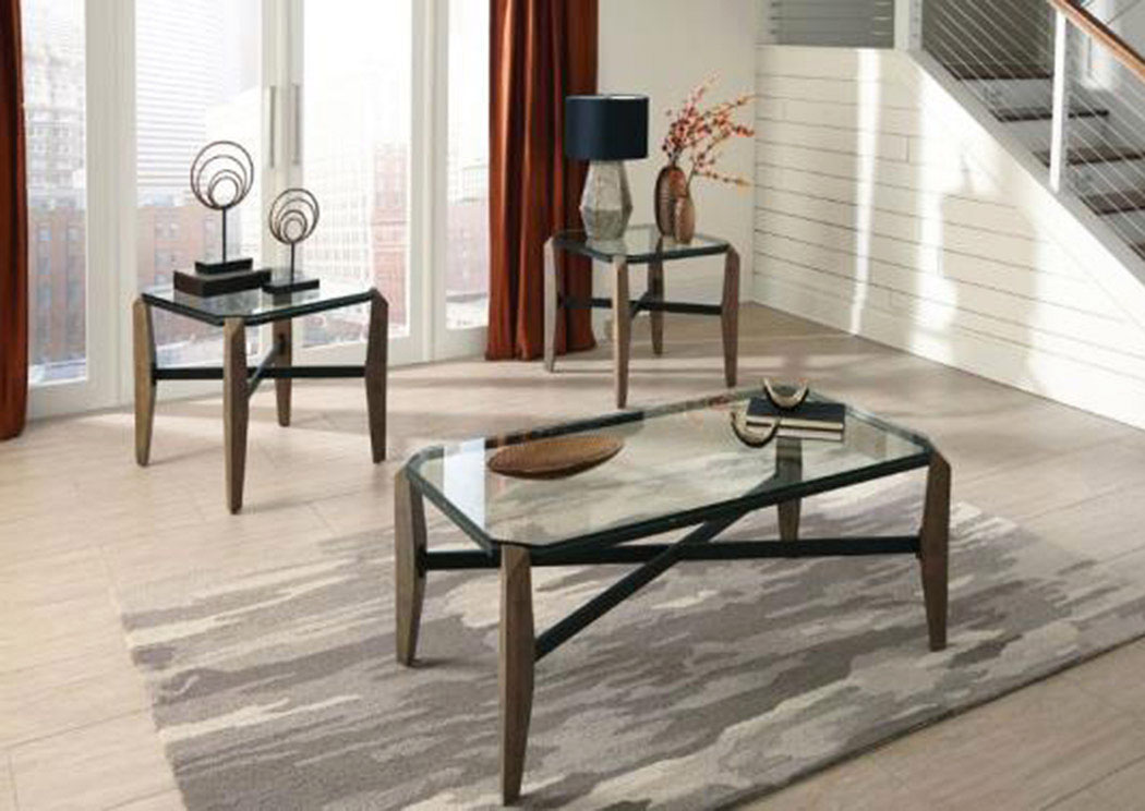 National Furniture Outlet Westwego La Rustic End Table
