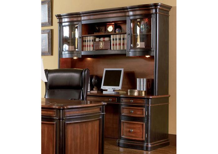 Beautiful Computer Desk W/Hutch,Coaster Furniture