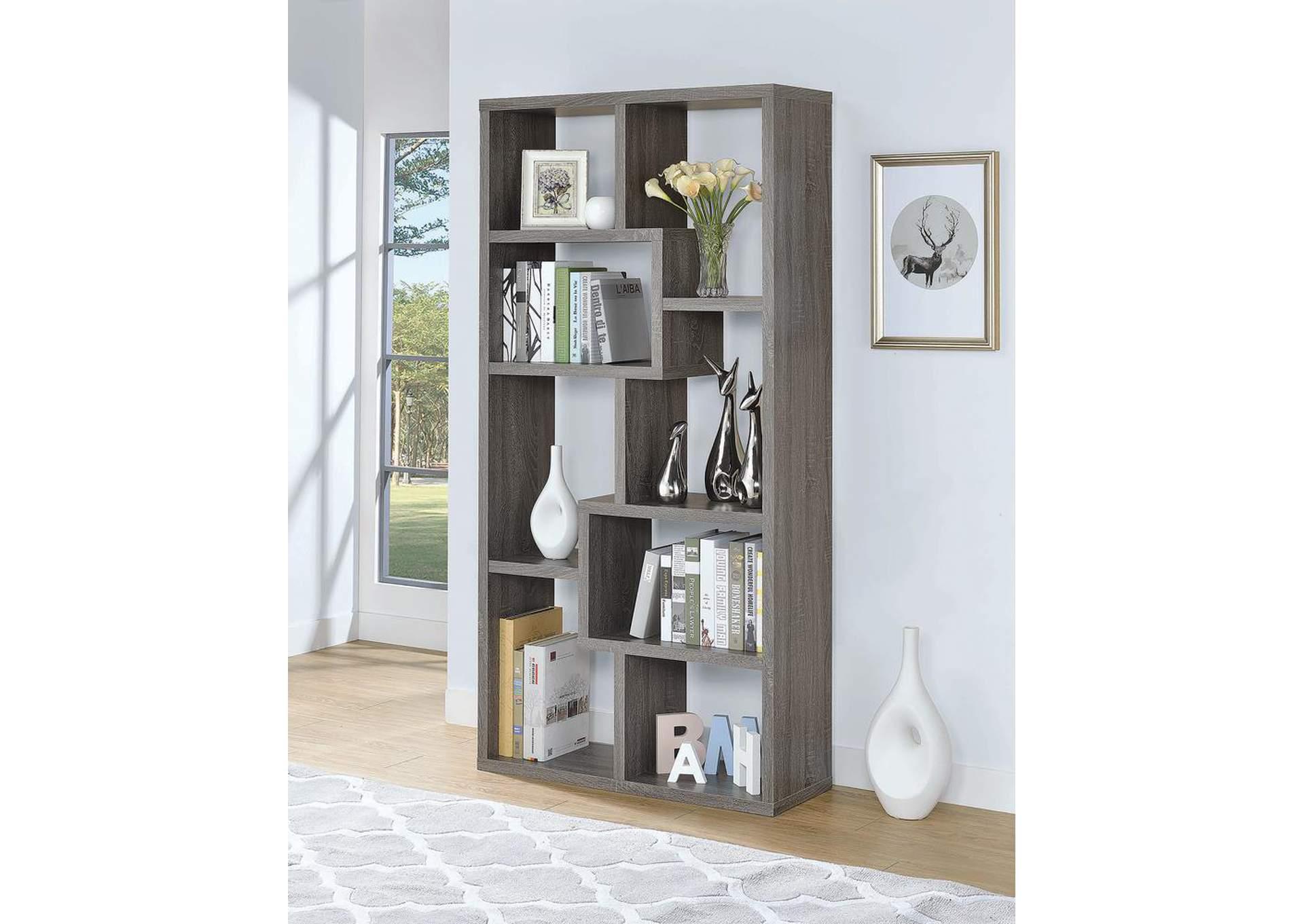Frugal Furniture   Boston, Mattapan, Jamaica Plain, Dorchester MA Dark Grey  Bookcase