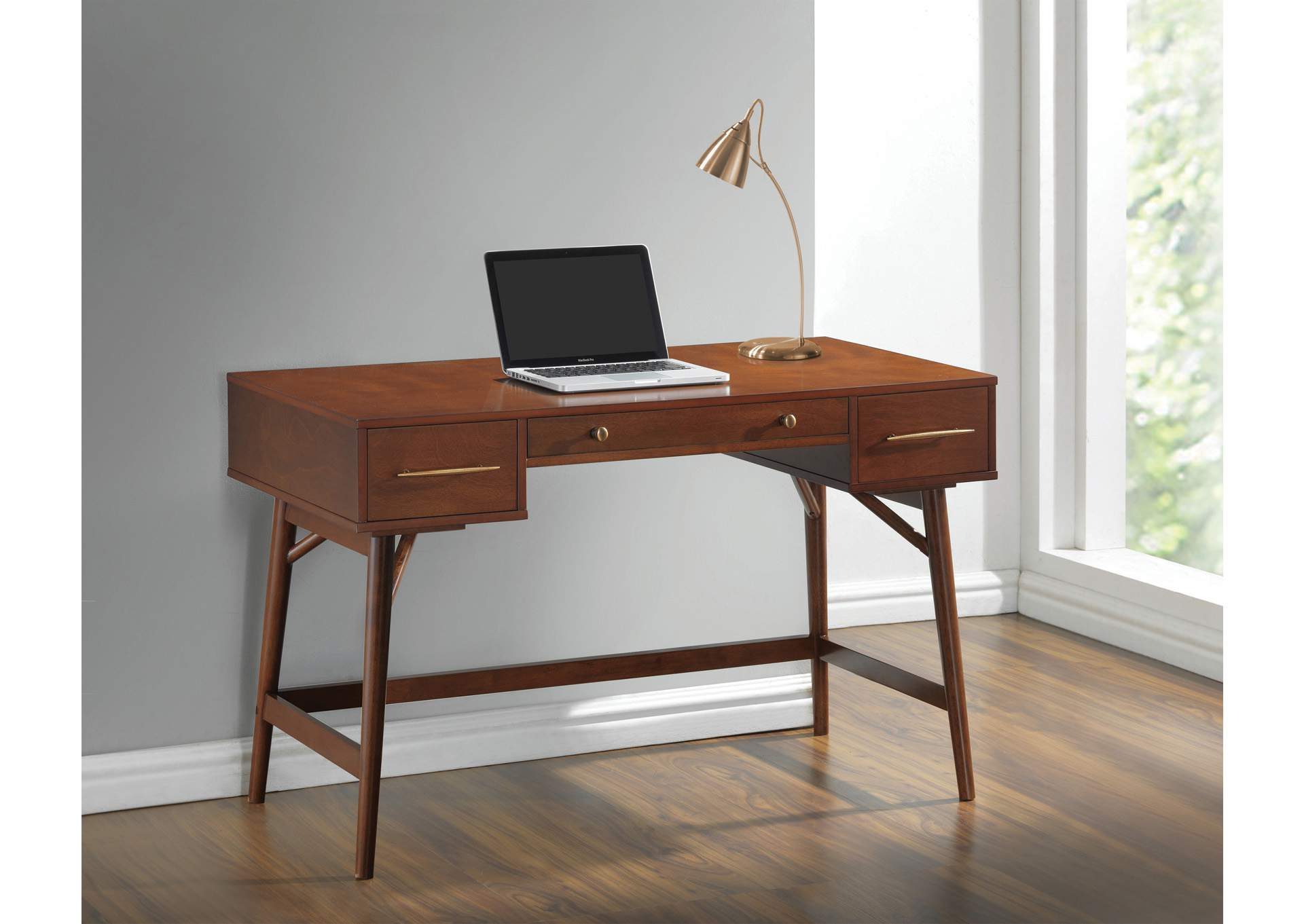 Walnut Writing Desk,Coaster Furniture