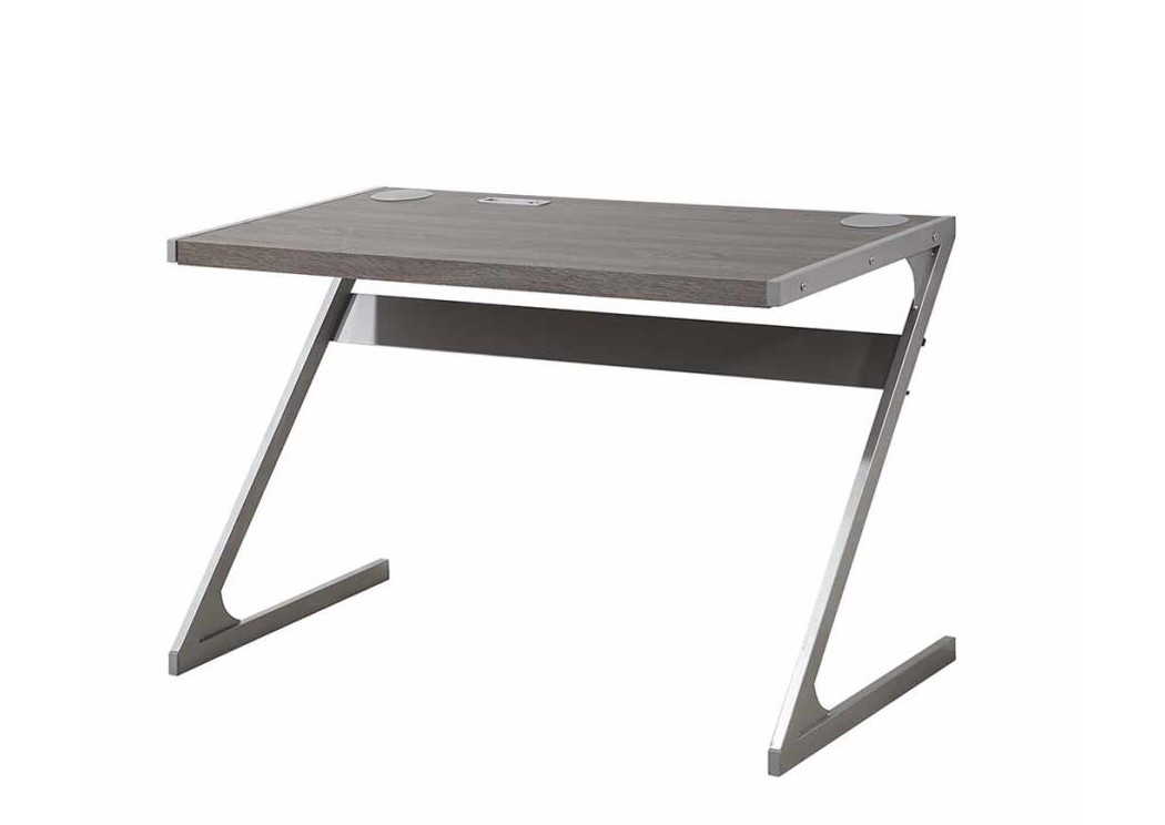 CP Rivers Discount Furniture Weathered Grey Writing Desk
