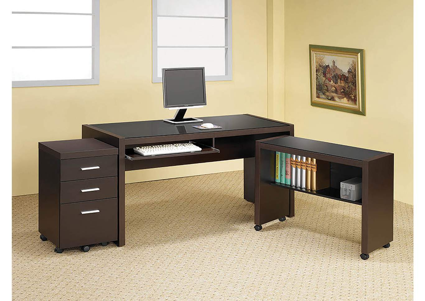 Brothers Fine Furniture Computer Desk
