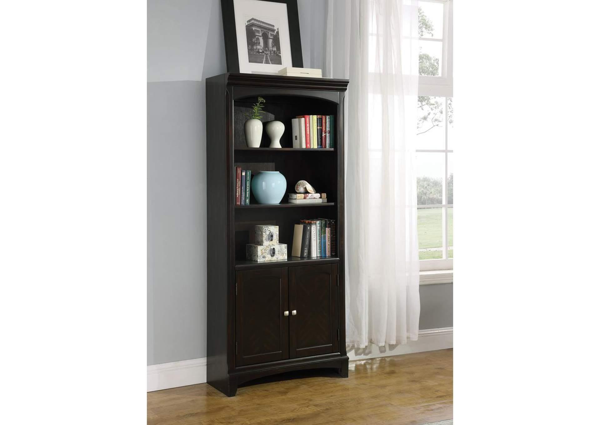 Furniture Palace Garson Walnut Bookcase