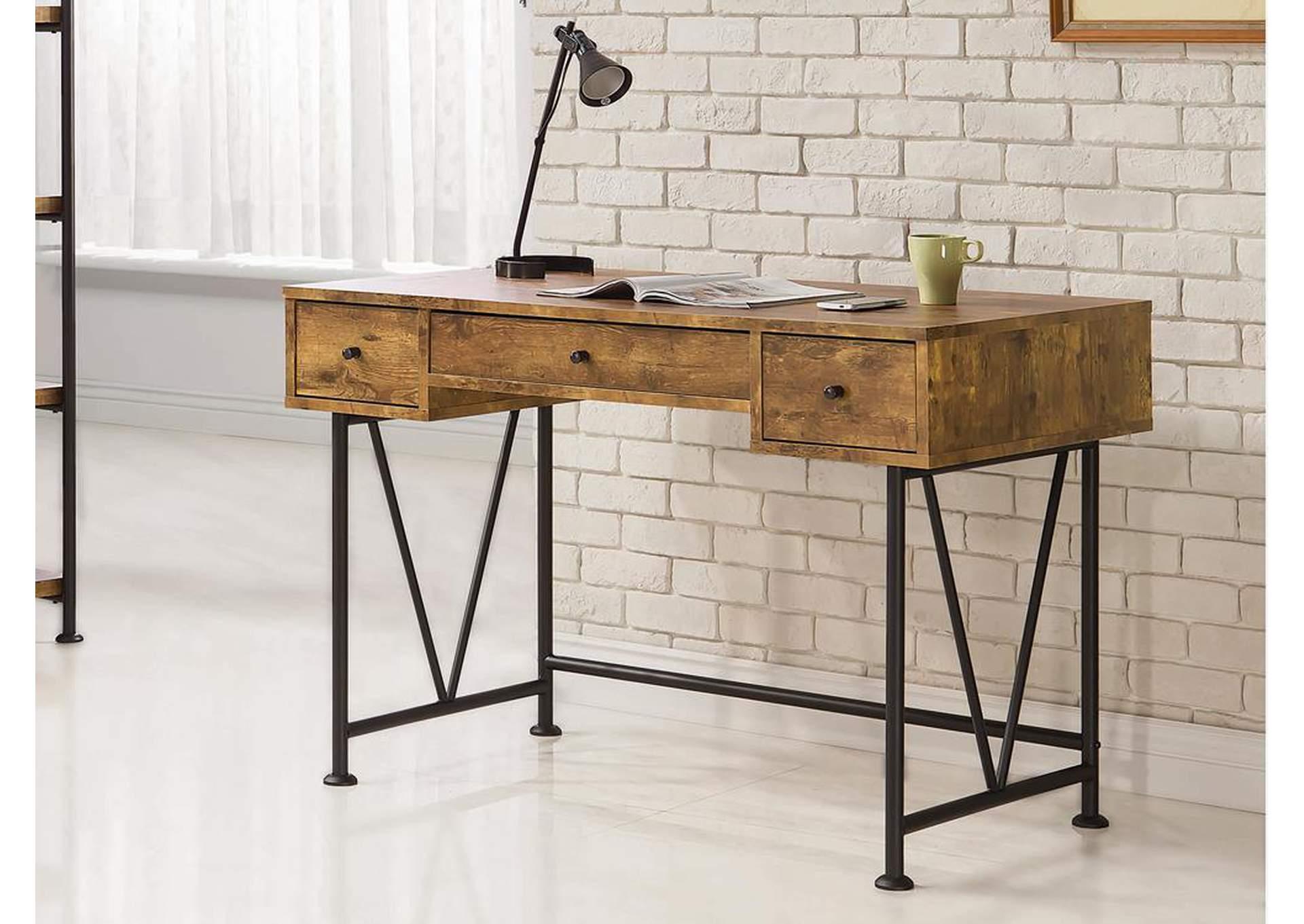 Attractive Furniture Factory Warehouse   Barrington, NJ Antique Nutmeg Computer Desk