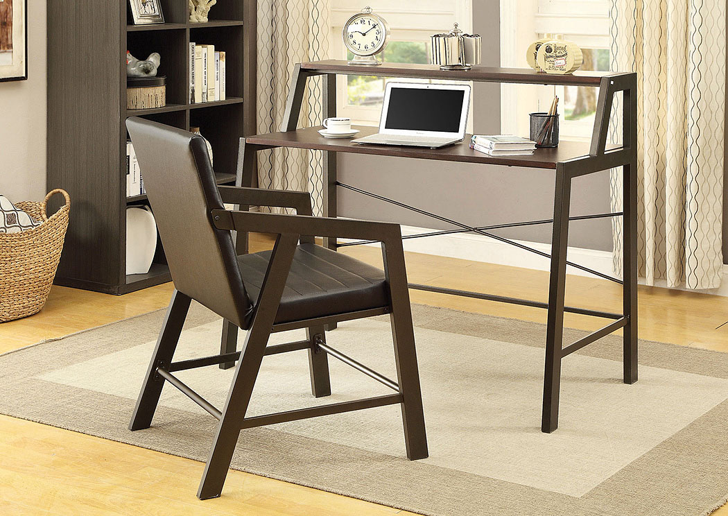 Black Desk,Coaster Furniture