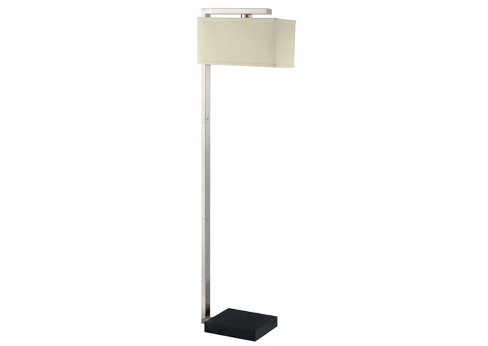 Brushed Silver Floor Lamp,Coaster Furniture