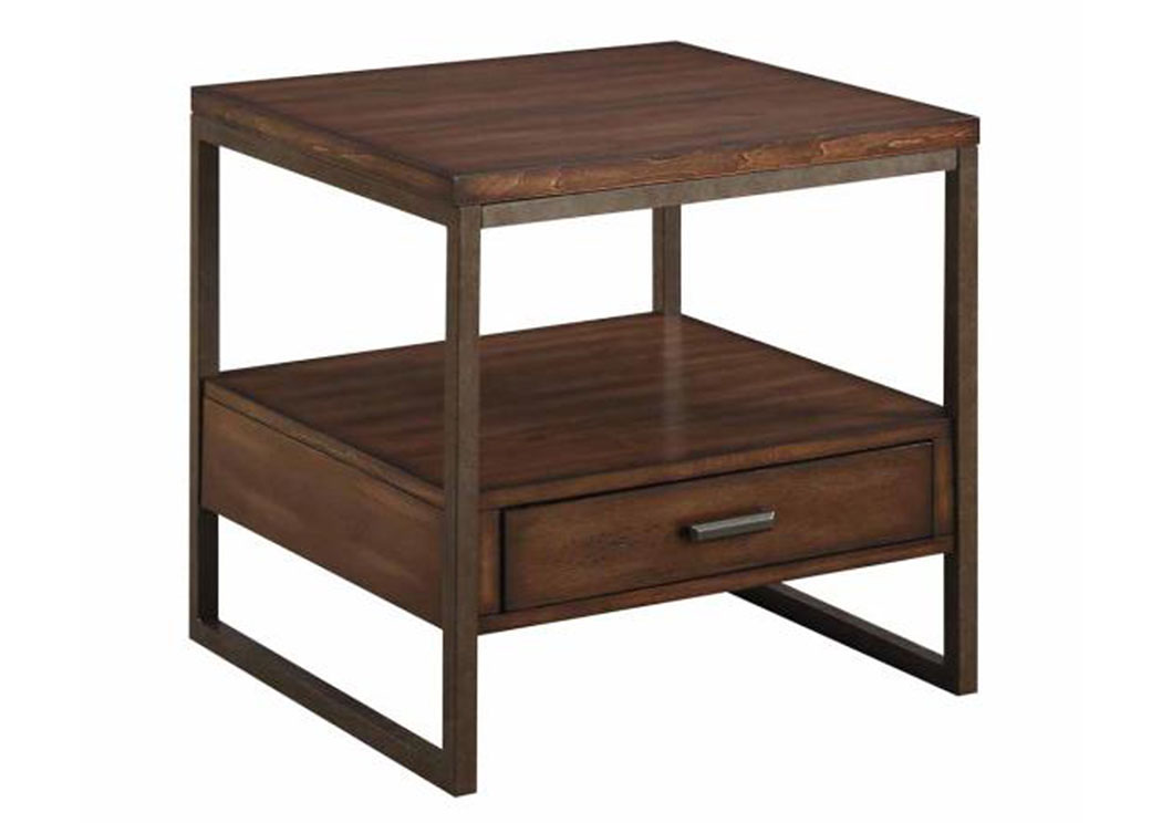 Light Brown Accent Table,Coaster Furniture