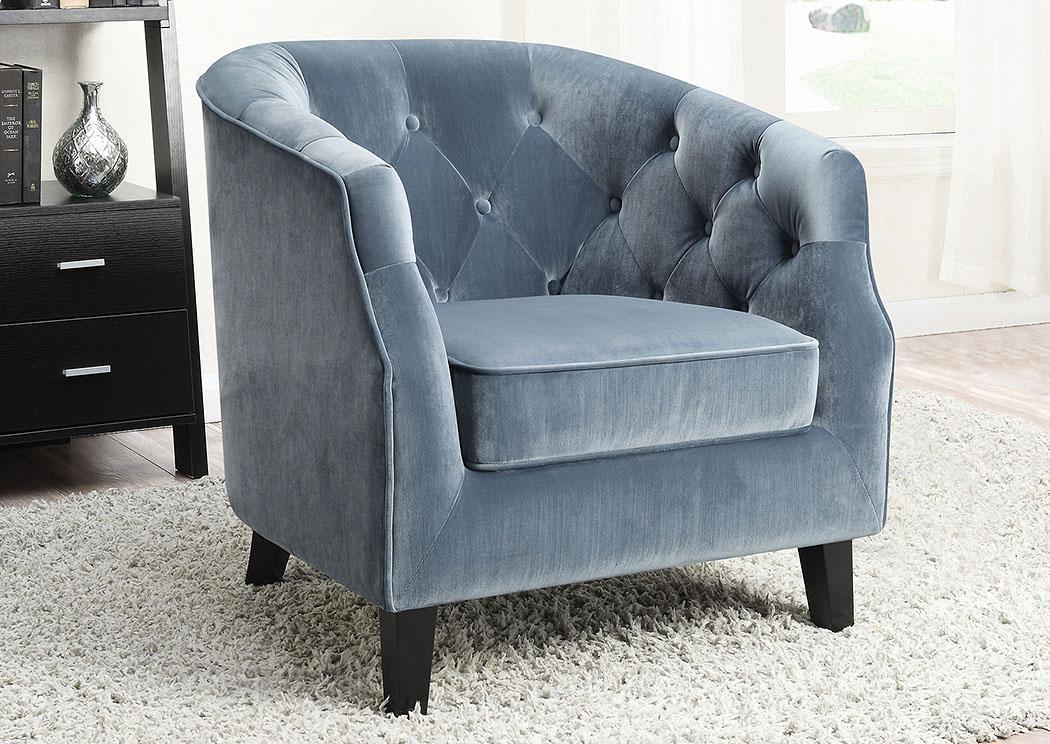 Light Blue Accent Chair,Coaster Furniture
