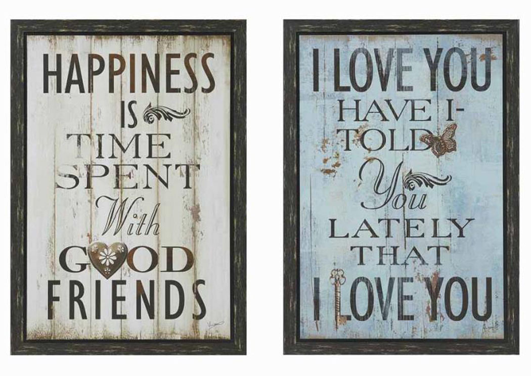 Loving Quotes Art,Coaster Furniture