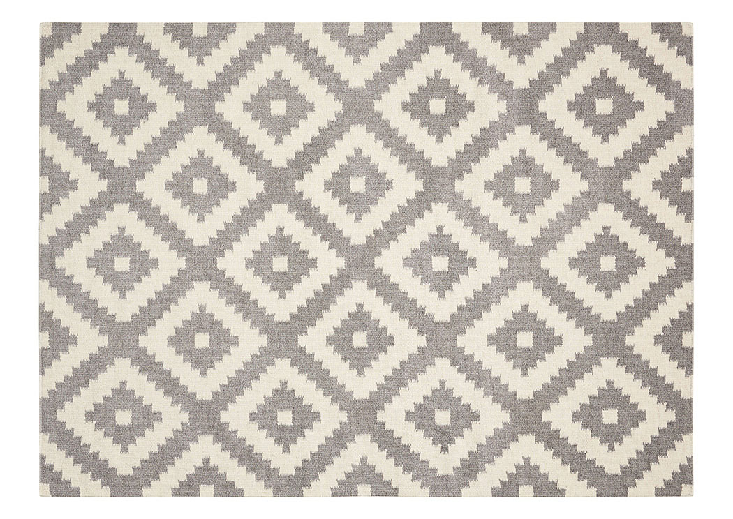 Gray/White Rug 5 X 7,Coaster Furniture