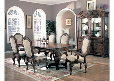 Saint Charles Green & Brown Arm Chair (Set of 2),Coaster Furniture