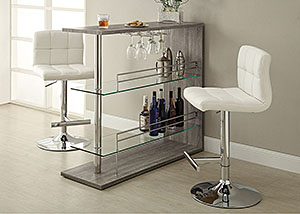 Dark Grey Bar Table,Coaster Furniture