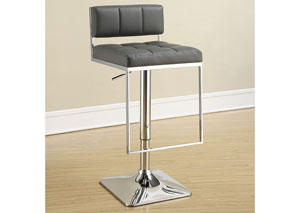 Chrome Adjustable Bar Stool