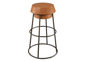 Brown/Black Bar Stool