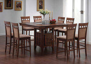 Dining Table w/ 6 Counter Stools