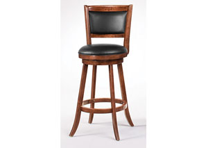 29in H Swivel Bar Stool (Set of 2)