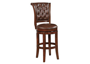 Warm Brown Bar Stool