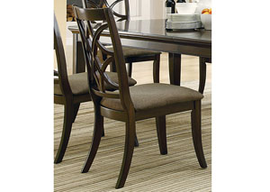 Espresso Side Chair (Set of 2)