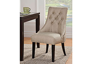 Accent Tufted Side Chair