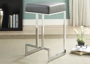 Grey Counter Height Stool