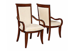 Walnut Arm Chair (Set of 2)