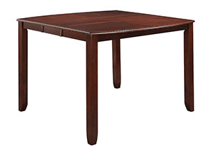 Dark Cherry Counter Height Table