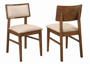 Walnut Dining Chair (Set of 2)